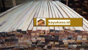 Harga Jenis Ukuran Kayu Kaso, Balok, Papan dan Reng Bali