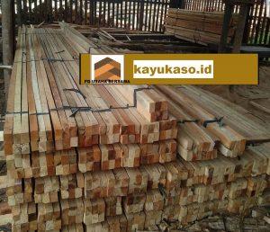 Harga Jenis Ukuran Kayu Kaso, Balok, Papan dan Reng Yogyakarta