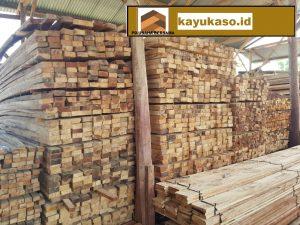 Harga Jenis Ukuran Kayu Kaso, Balok, Papan dan Reng Kepulauan Seribu